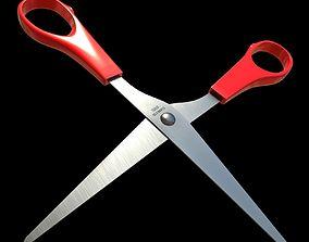 3D asset Scissors - PBR Game-Ready