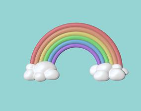 Cute Rainbow 3D printable model