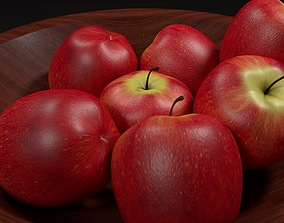 Bowl of Apples 3D model