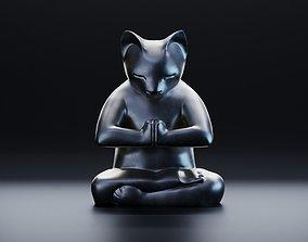 3D model Funny yoga animals
