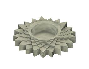 Tea Light Star 3D Printable