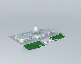 US CAPITAL BUILDING AND GROUNDS 3D