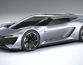3D Audi PB18 E-Tron Concept