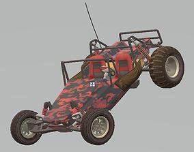 Military beach buggy 3D