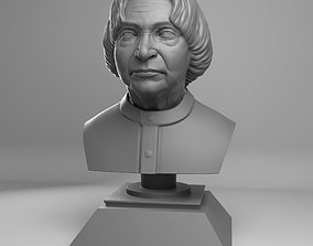 3D print model APJ Abdul Kalam Azaad Bust