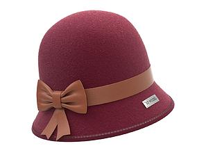 3D model bowler Cloche Hat