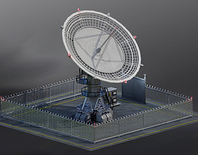 3D asset Radio telescope