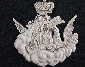 coat of arms 1 art 3D printable model