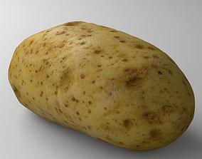 Potato 01 3D model