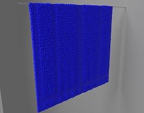 Towel Hung 4 3D model