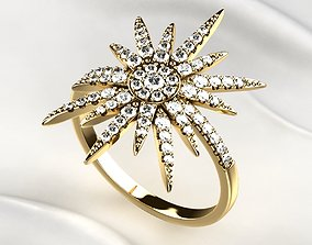 Star Golden Ring 3D print model