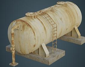 3D model Industrial Gas Tank 5B