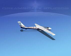 3D SZD-36 Cobra Glider V11