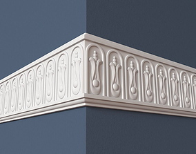 architectural 3D model Frieze