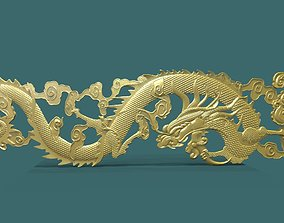 Dragon 3d stl model for cnc sculptures