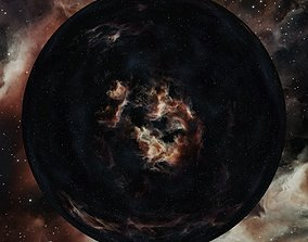 3D Nebula Space Environment HDRI Map 022