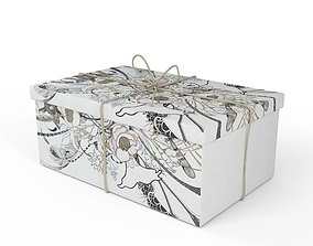 3D model birthday Present - Gift Box