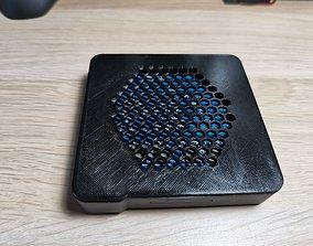 3D printable model Mecool KM1 custom cooling cover