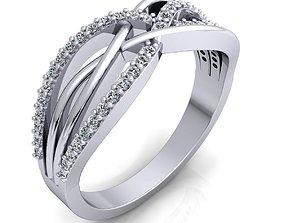 Classic Band Ring 82 3D print model