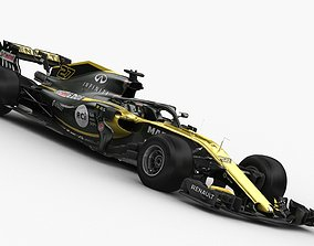 3D model F1 Renault RS 18 2018
