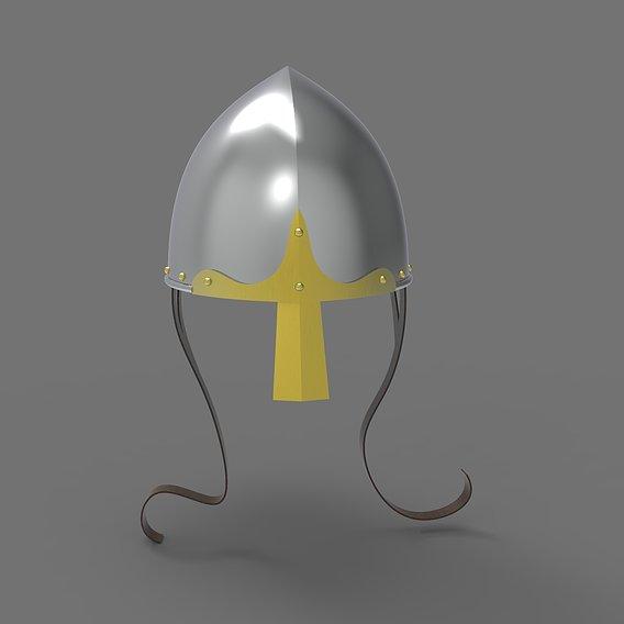 Norman Nasal Helmet Head Armour