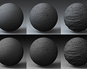 3D Displacement Landscape Shader 008