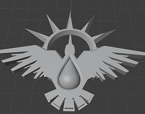 3D printable model Blood Ravens badge
