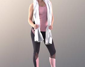 game-ready Juliette 10781 - Sport Girl - Free 3DPEOPLE