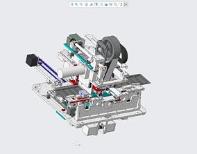 3D printable model SMT automatic splicing machine