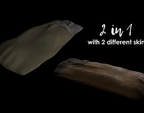 2 in 1 - Sleeping Bag with 2 Different Skins 3D model