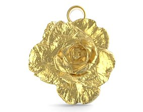 3D printable model Rose pendant 1
