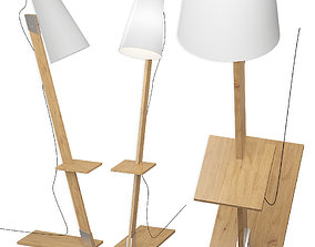 The floor lamp Nowodvorski Torino 3D