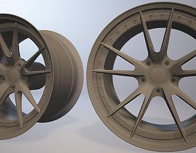3D printable model HRE S104 rim