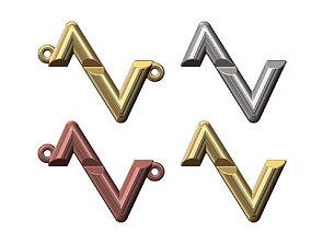 LV Bolt ornament and pendant 3D print model