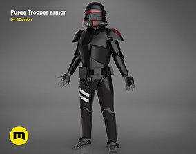Purge Trooper armor 3D print model
