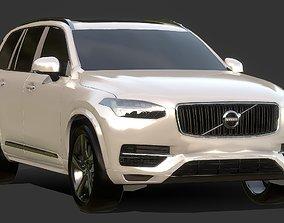 Auto SUV Volvo CX 90 3D model game-ready
