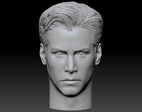 Neo Anderson From Matrix Keanu Reeves Head 3D Print