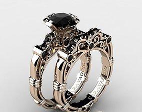 3D printable model Caravaggio Ring