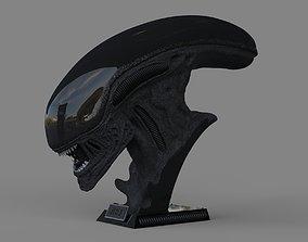 Alien Xenomorph Bust 3D Print Stl Model Diorama 3D 1