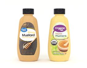 3D model Great Value Organic Dijon Mustard