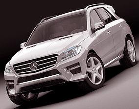 Mercedes M class AMG package 3D