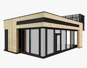 3D model Trade Pavilion Shop