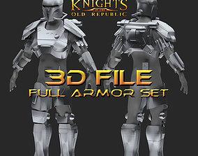Early Crusader Mandalorian Armor - Star 3D print model 1