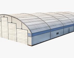 3D model Aircraft Maintenance Hangar