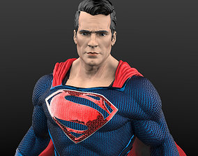 Superman from Man of steel 3D printable model