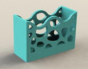 3D printable model Wave Pen Holder