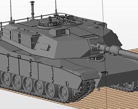 3D print model M1 Abrams tanks