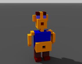 Fat Man Pixel 3D print model