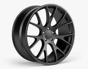 car Dodge Hellcat Wheel 3D model