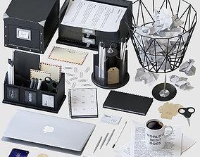 Office Supplies Set 3D